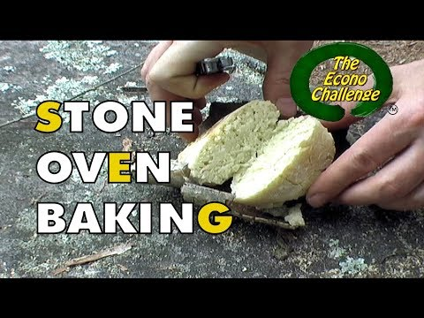Birch Bark Bannock Baking in a Bush Oven - Econo Challenge Test Hike