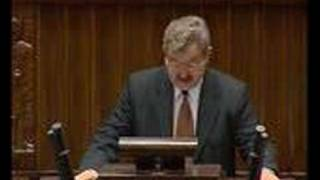 Wystąpienie po kaszubsku - Kazimierz Kleina - 14.11.2006r.