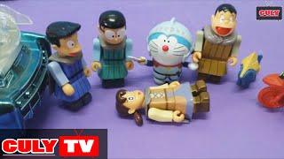 Doremon đồ chơi vui #2 - Xuka bị bắt cóc - nhóm Nobita đấu với Lego Ninjago cứu Shizuka Doraemon