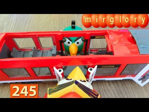 Машинки Мультики про Паровозики Двери Город машинок 245 серия Мультики для детей про игрушки