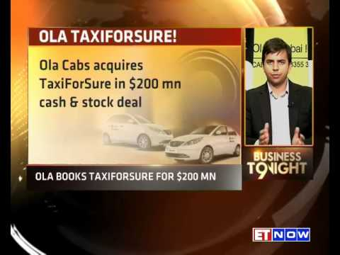 Ola Cabs Acquires TaxiForSure | Bhavish Aggarwal Of Ola Cabs Comments On The Deal