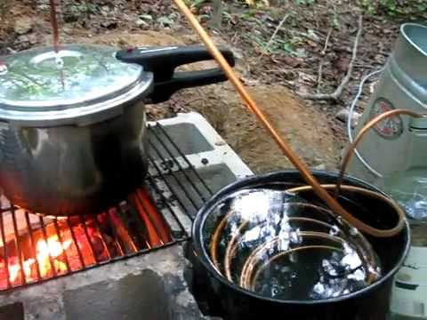 Pressure cooker water still.flv