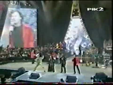 Chaka Khan, Mary J Blige, Rod Stewart, Steve Winwood Sing Together London 1997