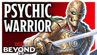 Fighter: Psychic Warrior in D&D's Unearthed Arcana