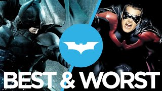 The Best & Worst Batman Movies Ranked : Movie Feuds ep125