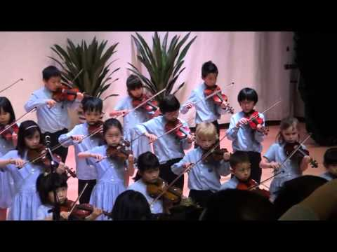 Yew Chung International School of Beijing - Year 3 Violin Concert