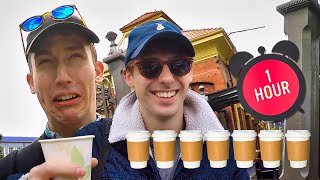 Drinking 7 Cups of Coffee in 1 hour. (Seriously don't try this)