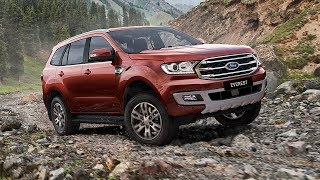 NEW Ford Everest 2019 Facelift – First Look!!!