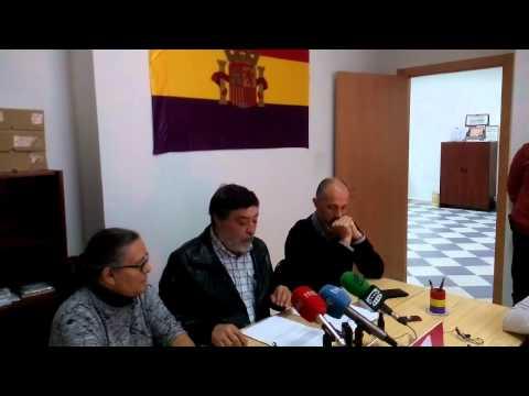 Dimisión de Alejandro Nogales, rueda concejales iu badajoz-cáceres 21 11 14
