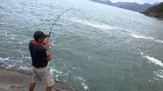 Pescaria de costão