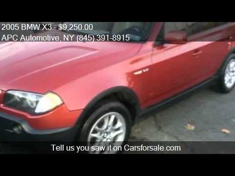 2005 BMW X3 2.5i AWD 4dr SUV for sale in New Windsor, NY 125