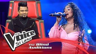 Shaini Nerita – Hallelujah | Blind Auditions | The Voice Sri Lanka