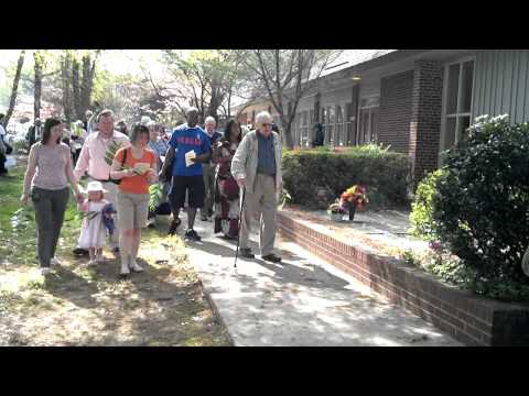 Procession - St. Anne's - Palm Sunday / 