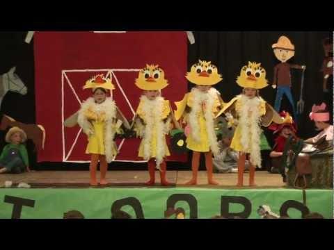 E.I.E.I.Oops! - The Songs - Bloomingdale School 1st Grade Play (6-7-11)