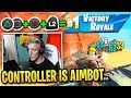 After This Tfue Uses Controller to PROVE They Have it Easy...