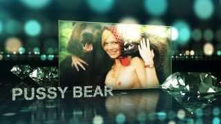 Pussy Bear - Naked Girl - Реклама Уральск (Казахстан)
