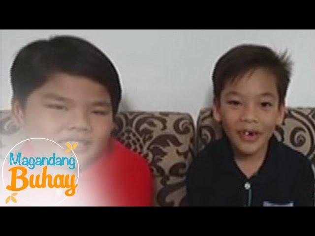 Magandang Buhay: Sam & Riley Paras greet their 'Daddy Totoy'