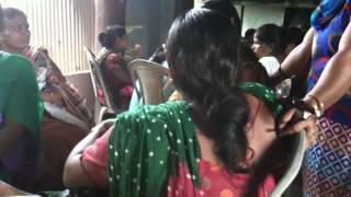 Bangladeshi Jasmin  well dress at open