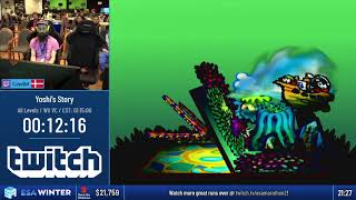 #ESAWinter19 Speedruns - Yoshi's Story [All Levels] by LoveBot