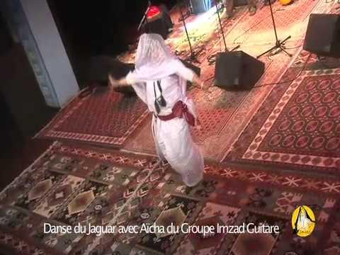 La danse du Jaguar par Aïcha du Groupe IMZAD Guitare