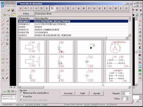 Electrical designer dise o de esquemas el ctricos youtube for Programa para planos