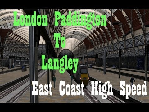WATCH IN HD Train Simulator 2013: London Paddington to Langley Follow me: http://twitter.com/izmark Subscribe to me to keep updated with my latest videos: http://www.youtube.com/subscription_ce.