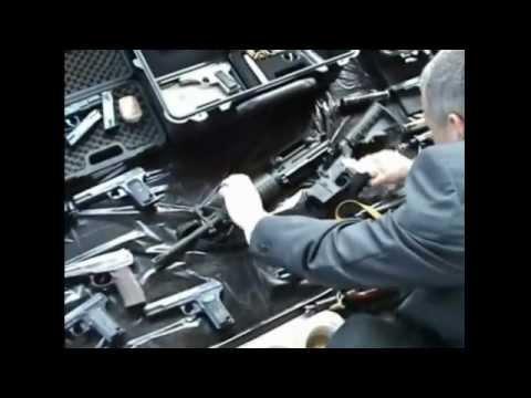 Схрон оружия нашли сотрудники ФСБ в Тульской области