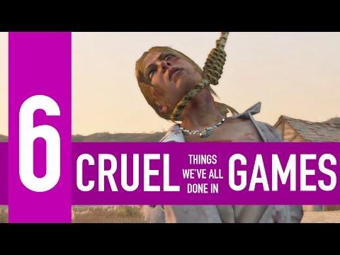 6 Cruel Things We Ve All Done In Games
