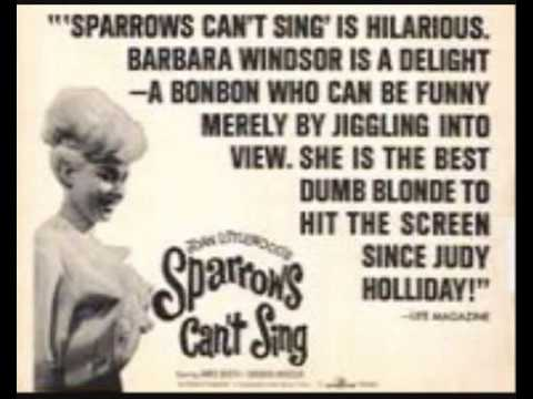BARBARA WINDSOR - 'Sparrows Can't Sing' - 1963 45rpm