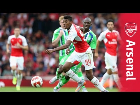 Jeff Reine-Adelaide's skills though.. and Emirates Cup best bits in slow-motion