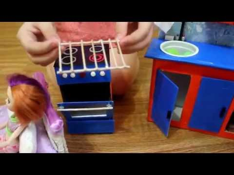 Плита для куклы своими руками 16