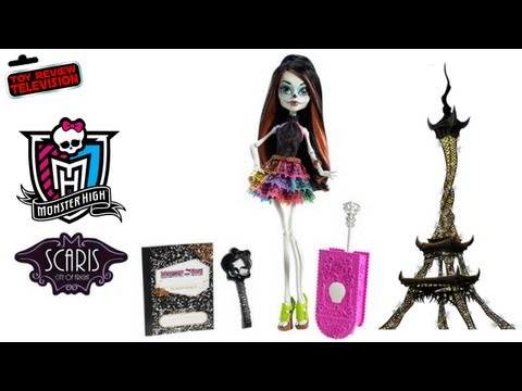 Monster High Skelita Calaveras Scaris City Of Frights Toy Doll Review Unboxing