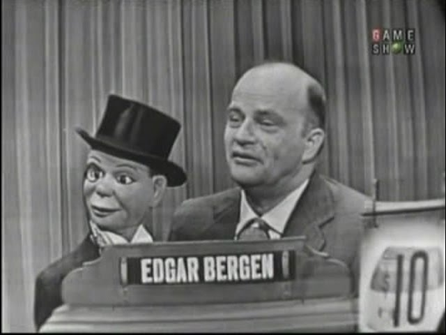What's My Line? - Edgar Bergen & Charlie McCarthy (Dec 26, 1954)
