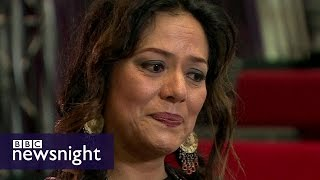 Lila Downs on Trump, protest and death - BBC Newsnight