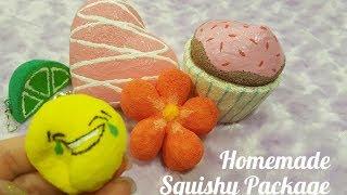 Amazing homemade squishy package *-*