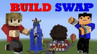 IMPROVED BUILD SWAP! Custom Minecraft Minigame /w Taurtis