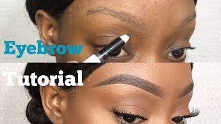 EASY EYEBROW TUTORIAL (UPDATED) FOR VERY THIN & SPARSE BROWS + TIPS FOR OILY BROWS