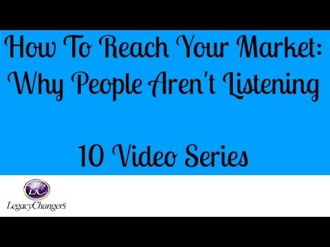 How to reach your market #1