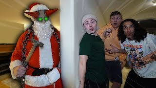 EVIL SANTA BREAKS INTO MY HOUSE AT 3 AM!! (TERRIFYING)
