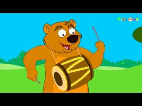 KIDS Animation Chu Chu Karti Aayi Chidiya   Hindi Animated Rhymes...