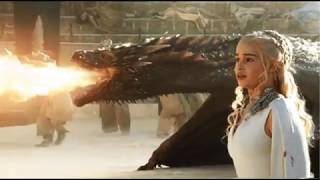 Game Of Thrones Dragons; Viserion, Rhaegal, Drogon