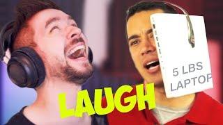 THE HARDEST I'VE EVER LAUGHED | Jacksepticeye's Funniest Home Videos