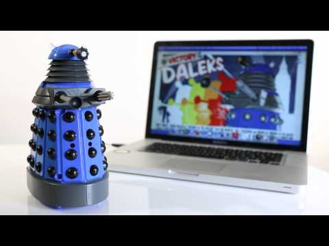 Doctor Who USB Dalek Desk Defender from ThinkGeek