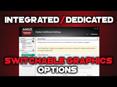 How to configure AMD Switchable Graphics in Radeon Software Crimson   R5 M330