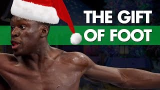 The Gift Of Foot - Crazy Christmas Knockouts - Day 2