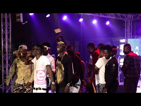 Download Mp4 Video: Shatta Wale – First Live performance in 2017 At TiGO Festival of Lights And Music