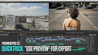 EDITING 101: Reduce export time in Premiere Pro CC