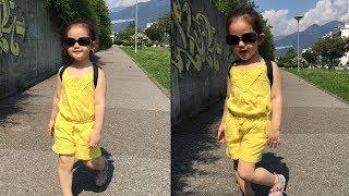Đến trường gặp cô giáo trước khi đi mẫu giáo - LyLy 3 tuổi 6 tháng