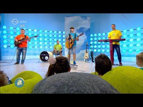 Papírsárkány - Fülemüle Zenekar DUNA TV Család - barát műsorban 2019.09.06. gyerekdalok, gyerekzene