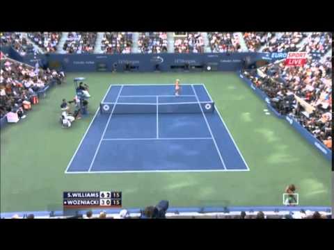 2014 US Open FINAL Serena Williams vs Caroline Wozniacki Highlights HD   YouTube